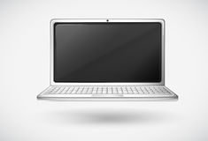 A laptop Royalty Free Stock Photo