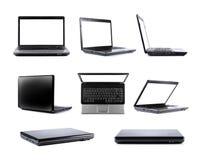 Laptop inzameling royalty-vrije stock afbeelding