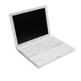 Laptop isolated Stock Images