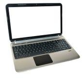 Laptop isolated Stock Image