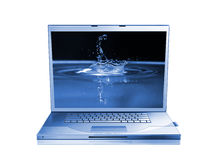Laptop isolated Royalty Free Stock Images