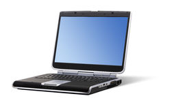 Laptop - Isolated stock photo