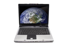 Laptop isolated Royalty Free Stock Photography