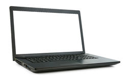 Laptop isolated Royalty Free Stock Photos