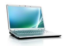 Laptop isolated on white Stock Photo