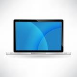Laptop isolated on white background  Stock Image