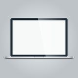 Laptop isolated on white background Royalty Free Stock Image