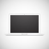 Laptop isolated on white background Royalty Free Stock Images
