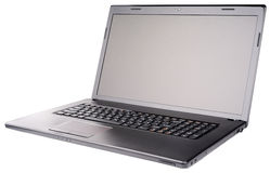 Laptop isometric view Stock Image