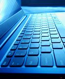 Laptop keyboard royalty free stock photos
