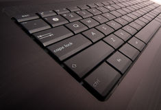 Laptop keyboard Royalty Free Stock Photo
