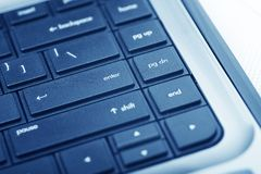 Laptop Keyboard Royalty Free Stock Image