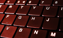 Laptop keyboard Stock Photos