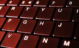 Laptop keyboard. Abstract image of a Laptop keyboard Stock Photos