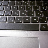 Laptop keyboard Stock Photo