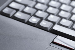 Laptop keyboard Royalty Free Stock Image