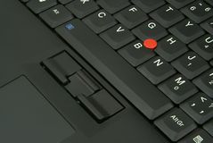 Laptop Keyboard Detail Royalty Free Stock Photo