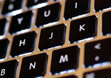 Laptop keyboard Stock Images