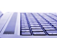 Laptop keyboard macro Stock Image