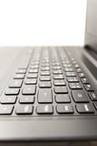 Laptop keyboard  on white background Stock Images