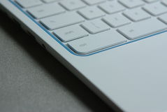 Laptop keyboard Royalty Free Stock Photo