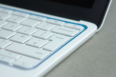Laptop keyboard Stock Image