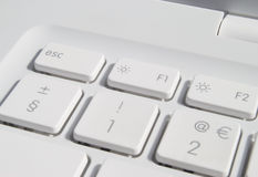 Laptop keys Stock Image