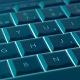 Laptop keys abstract Royalty Free Stock Photos