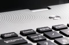 Laptop klawiatura Zdjęcia Royalty Free