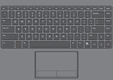 Laptop klawiatura USA Obrazy Royalty Free
