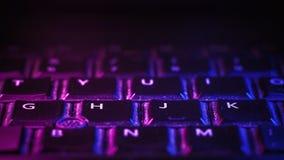 Laptop klawiatury szczegóły Fotografia Royalty Free