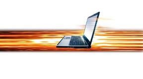 laptop komputerowy Obrazy Royalty Free