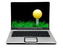 laptop komputerowy Obraz Royalty Free