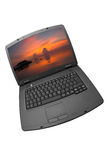 laptop komputerowy obrazy stock
