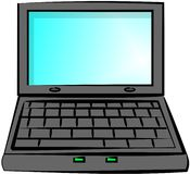 laptop komputerowy Obraz Stock