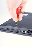 Laptop maintenance Royalty Free Stock Photos