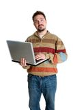 Laptop Man Stock Images