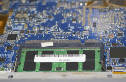Laptop memory. Stock Images