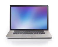Laptop met 3 nauwkeurige het knippen wegen Stock Foto