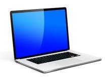 Laptop mit Kopien-Raum Lizenzfreie Stockfotos