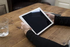 Laptop model Royalty-vrije Stock Foto