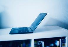 Laptop in modern interior Royalty Free Stock Image