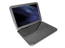 Laptop, moderner Computer Lizenzfreie Stockfotos