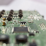 Laptop motherboard Royalty Free Stock Photos