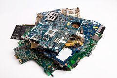 Laptop motherboards Stock Photos