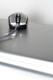 laptop myszy srebra Zdjęcie Royalty Free