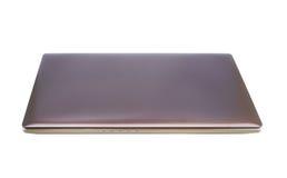 Laptop na białym tle Zdjęcie Stock