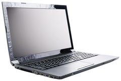 laptop nad biel Fotografia Stock