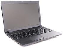 laptop nad biel Zdjęcia Royalty Free