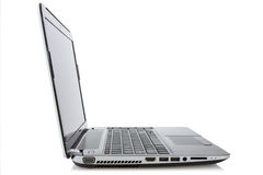 Laptop notebook isolated Stock Photo